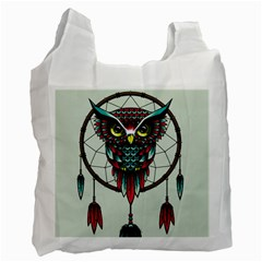 Bird Recycle Bag (one Side) by AnjaniArt