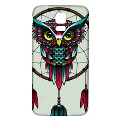 Bird Samsung Galaxy S5 Back Case (White) by AnjaniArt