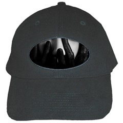 Black And White Black Cap