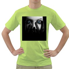 Black And White Green T Shirt