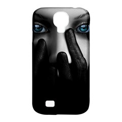 Black And White Samsung Galaxy S4 Classic Hardshell Case (pc+silicone) by AnjaniArt