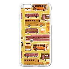 Bus Cartoons Logo Apple Iphone 6 Plus/6s Plus Enamel White Case by AnjaniArt
