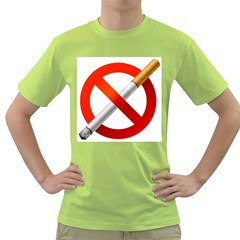 Cigarette Green T Shirt