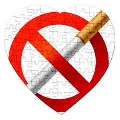 Cigarette Jigsaw Puzzle (heart)