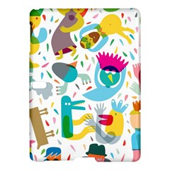 Colorful Cartoon Funny People Samsung Galaxy Tab S (10 5 ) Hardshell Case  by AnjaniArt