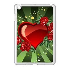Cool Boy Wallpaper Apple Ipad Mini Case (white) by AnjaniArt