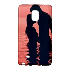 Couple In Love Beach Galaxy Note Edge by AnjaniArt