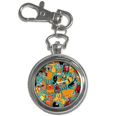 Creature Cluster Key Chain Watches by AnjaniArt