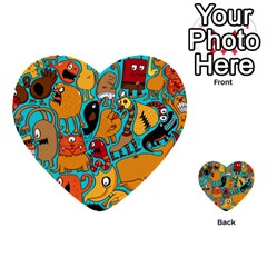 Creature Cluster Multi Purpose Cards (heart)