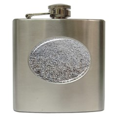 Pebble Beach Photography Ocean Nature Hip Flask (6 Oz) by yoursparklingshop
