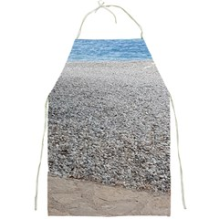 Pebble Beach Photography Ocean Nature Full Print Aprons by yoursparklingshop