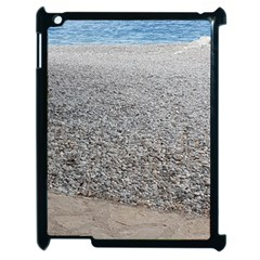 Pebble Beach Photography Ocean Nature Apple Ipad 2 Case (black) by yoursparklingshop
