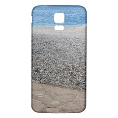 Pebble Beach Photography Ocean Nature Samsung Galaxy S5 Back Case (white) by yoursparklingshop