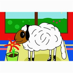 Urban Sheep Collage Prints by Valentinaart
