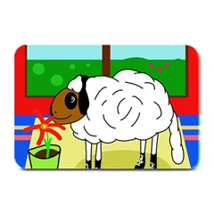Urban Sheep Plate Mats by Valentinaart