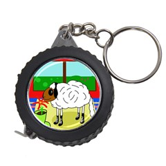 Urban Sheep Measuring Tapes by Valentinaart