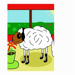 Urban Sheep Small Garden Flag (two Sides) by Valentinaart