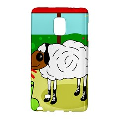 Urban Sheep Galaxy Note Edge by Valentinaart