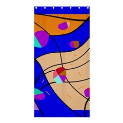 Decorative Abstract Art Shower Curtain 36  X 72  (stall)  by Valentinaart