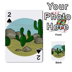 Desert Playing Cards 54 Designs
