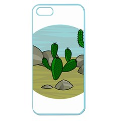 Desert Apple Seamless Iphone 5 Case (color) by Valentinaart