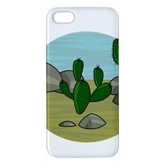 Desert Iphone 5s/ Se Premium Hardshell Case by Valentinaart