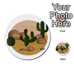 Desert 2 Multi Purpose Cards (round)  by Valentinaart