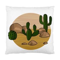 Desert 2 Standard Cushion Case (two Sides) by Valentinaart