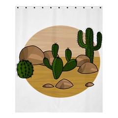 Desert 2 Shower Curtain 60  X 72  (medium)  by Valentinaart