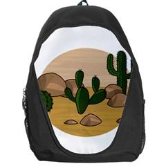 Desert 2 Backpack Bag by Valentinaart