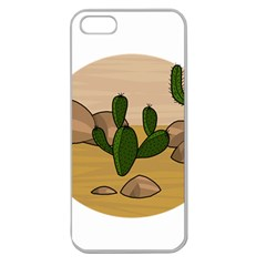 Desert 2 Apple Seamless Iphone 5 Case (clear) by Valentinaart