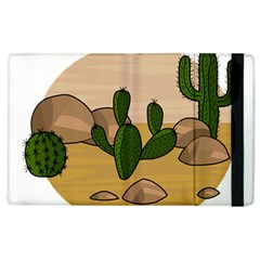 Desert 2 Apple Ipad 2 Flip Case by Valentinaart