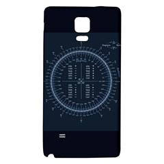 Minimalistic Knowledge Mathematics Trigonometry Galaxy Note 4 Back Case by Zeze