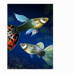 Marine Fishes Large Garden Flag (Two Sides) by Zeze