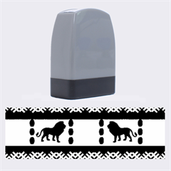 Lion African Vector Pattern Name Stamps by Zeze
