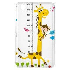 Cute Giraffe Monkey Samsung Galaxy Tab Pro 8 4 Hardshell Case by AnjaniArt