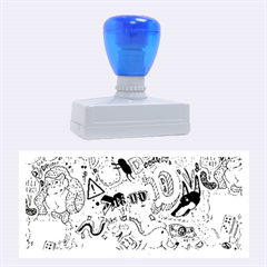 D Pattern Rubber Stamps (large)