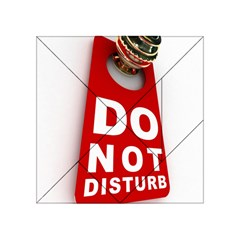 Do Not Disturb Acrylic Tangram Puzzle (4  X 4 ) by AnjaniArt