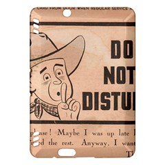Do Not Disturb I Want To Sleep Thanks Kindle Fire HDX Hardshell Case by AnjaniArt