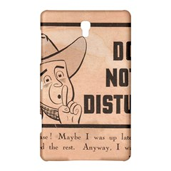 Do Not Disturb I Want To Sleep Thanks Samsung Galaxy Tab S (8.4 ) Hardshell Case  by AnjaniArt