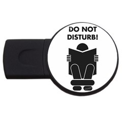 Do Not Disturb Sign Board Usb Flash Drive Round (4 Gb)