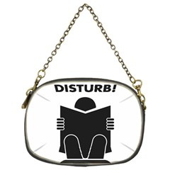 Do Not Disturb Sign Board Chain Purses (two Sides)  by AnjaniArt