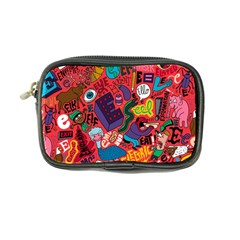 E Pattern Cartoons Coin Purse