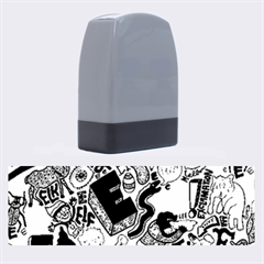 E Pattern Cartoons Name Stamps by AnjaniArt