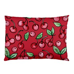Cherry Cherries For Spring Pillow Case (two Sides)