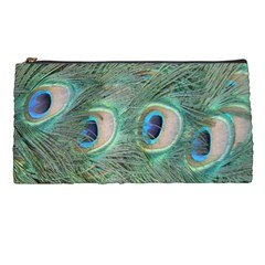 Peacock Feathers Macro Pencil Cases by GiftsbyNature
