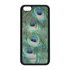 Peacock Feathers Macro Apple Iphone 5c Seamless Case (black) by GiftsbyNature
