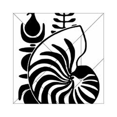 Emblem of New Caledonia Acrylic Tangram Puzzle (6  x 6 ) by abbeyz71