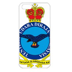 Crest Of Royal Malaysian Air Force Apple Iphone 5 Seamless Case (white) by abbeyz71
