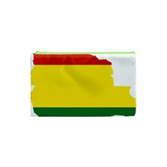 Flag Map Of Bolivia Cosmetic Bag (xs)
